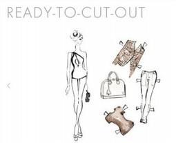 Louis Vuitton offre des patrons de poupée à habiller à sa guise : Veille du Brand Content | Retail01 | Scoop.it