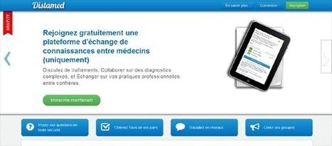 Distamed : nouvelle plateforme de collaboration médicale | veille santé | Scoop.it