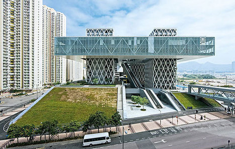 Hong Kong Design Institute: Inspired by Utopian Floating Cities of the 60s | sustainable architecture | Scoop.it