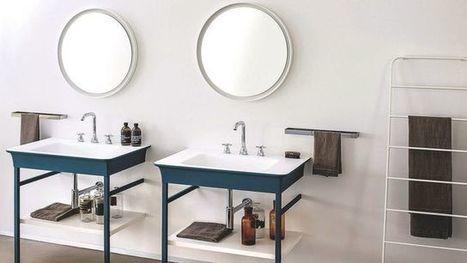 salle de bains : les nouveautés déco | Merveill'home | Scoop.it