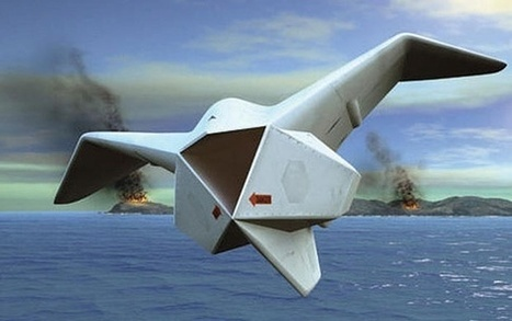 Drones - DARPA Wants to Seed the Ocean Depths With Upward Falling UAV Pods | VIM | Scoop.it