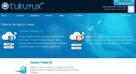 tukuyux – Crea y gestionar secciones en tu Facebook de forma sencilla | Aplicaciones y Herramientas . Software de Diseño | Scoop.it