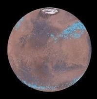Mars a des glaciers cachés sous la poussière   C@fé des Sciences   Scoop.it