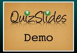 Quizslides   e-learning tools 101   Scoop.it