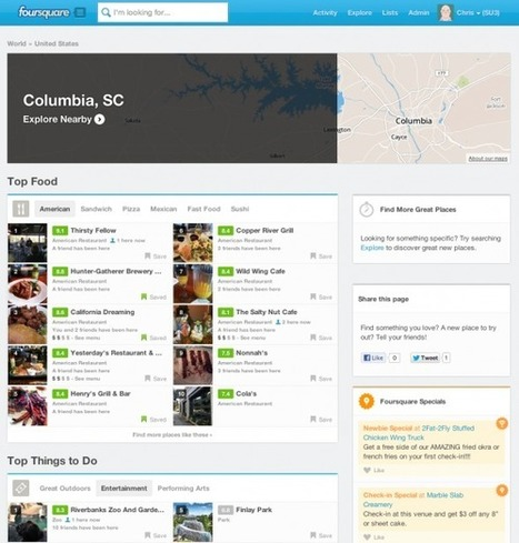 "Foursquare adds ""City Pages"" for hundreds of cities worldwide 
