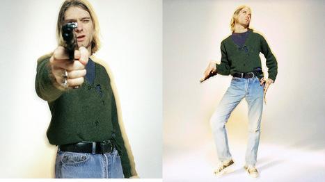 Kurt Cobain y la pistola, secretos de su última sesión de fotos   TN.com.ar   Vino y musica   Scoop.it