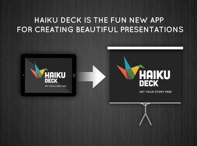 Haiku Deck, para crear bonitas presentaciones en iPad | Identitat Digital | Scoop.it