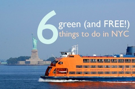 6 Free Green Things to Do This Summer in NYC!   Inhabitat - Green Design Will Save the World   Garden Designer   Scoop.it