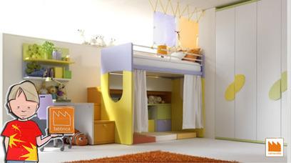 Il Portale dei bambini: »  La cameretta di Simone | Arredamento per bambini e camerette | Scoop.it