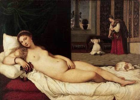 Tiziano Vecellio: La Venere di Urbino | Strange Art | Capire l'arte | Scoop.it