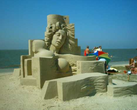 Sand art | The Arts forming our personality | Scoop.it