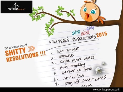 2015 Resolutions | Spoof on Happy New Year's Resolutions | Online Marketing Strategy - SMO - SEO - WEBSITE - GOOGLE - Education | Scoop.it