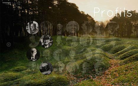Webdoc : Profils 14-18 - TV5MONDE | L'actu culturelle | Scoop.it