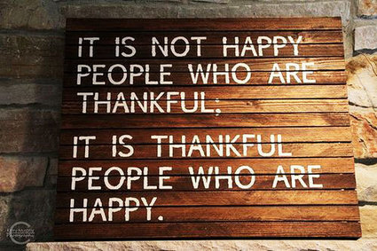 When you are thankful - ALearningaDay.com | Lead, Follow,Grow | Scoop.it