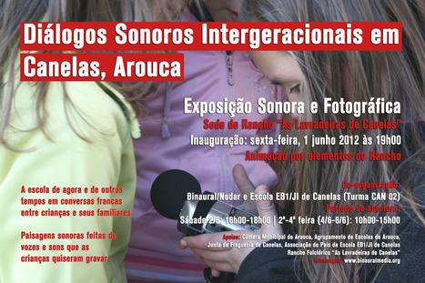 Intergenerational Sound Dialogues exhibition in Canelas | DESARTSONNANTS - CRÉATION SONORE ET ENVIRONNEMENT - ENVIRONMENTAL SOUND ART - PAYSAGES ET ECOLOGIE SONORE | Scoop.it