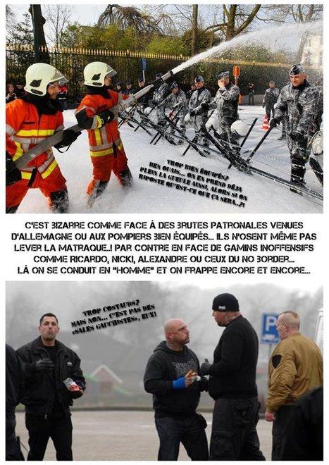 Petite mise au point : violence policière = 2 poids 2 mesures #VDS   Occupy Belgium   Scoop.it