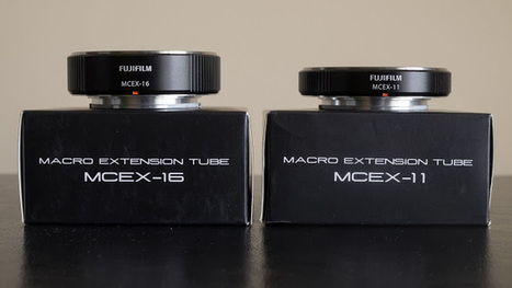 FUJIFILM MCEX-11 / MCEX-16 EXTENSION TUBES REVIEW | Björn Moerman | Photography | Scoop.it