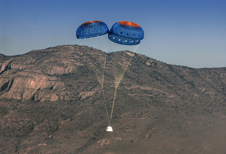 Bezos' Blue Origin Conducts Maiden Test Flight of 'New Shepard' Space Vehicle | New Space | Scoop.it