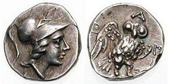 La Mitología y la Moneda: Atenas | Mundo Clásico | Scoop.it