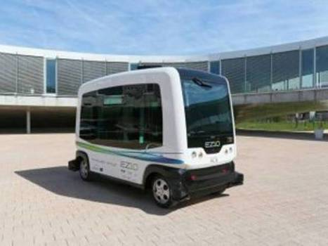 Driverless shuttle bus to take to Dutch public roads in world first - The Express Tribune | Automated Vehicle Insights Selected for You by CATES | Scoop.it