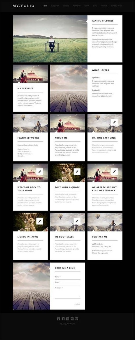 My Folio, Joomla Responsive Photography Theme | Premium Download | Premium Joomla Templates Download | Scoop.it