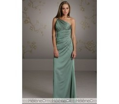 Unusual Ruched A-Line One-Shoulder Sleeveless Bridesmaid Dresses - Bridesmaid Dresses | fashion girl | Scoop.it