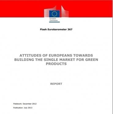 Al 80% de los europeos les preocupa el impacto ambiental de los productos | Green Marketing | Scoop.it