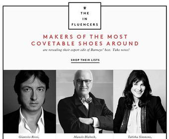 Barneys chooses charity alignment, social contest for shoe floor campaign | Social Experiments | Scoop.it