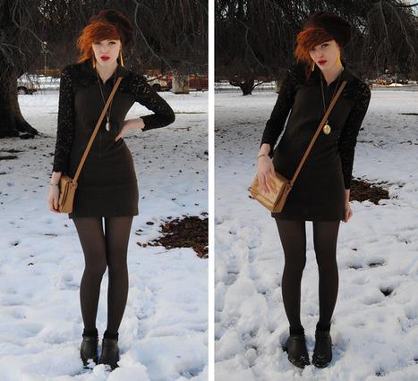 Winter outfit idea #2 (crack.blogg.se)   Street Style   Scoop.it