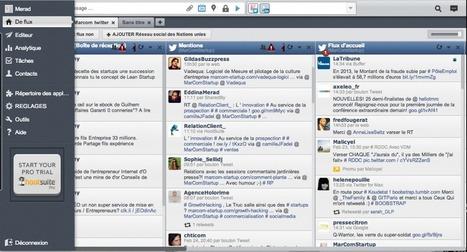 Hootsuite, l'outil de gestion des réseaux sociaux ! – MarCom... | Veille communication interne-externe | Scoop.it