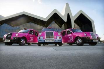 When pink's the new black: City's cabs get marketing makeover | Glasgow news | Scoop.it