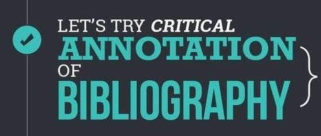 Let's try Critical Annotation of Bibliography | About Dissertation | Scoop.it