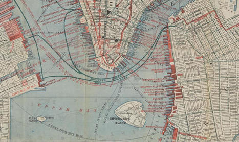 The New York Public Library Is Using Old Maps To Create A Time Machine Of The City | Irresistible Content | Scoop.it