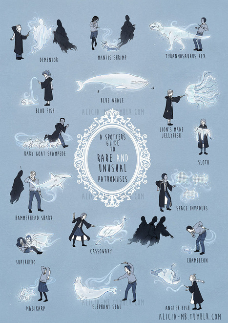A Field Guide To Unusual (And Hilarious) Harry Potter Patronuses | Strange days indeed... | Scoop.it