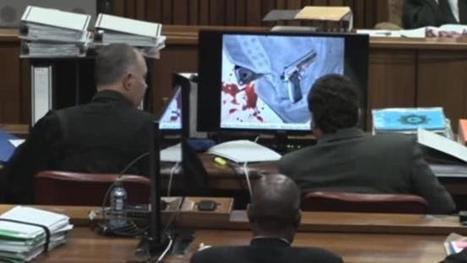 Oscar Pistorius sobs and vomits as court is accidentally shown graphic image ... - NEWS.com.au | Pistorius trial | Scoop.it