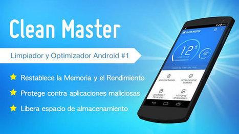 Limpia la memoria de tu dispositivo Android con Clean Master | Batiburrillo.net | Scoop.it