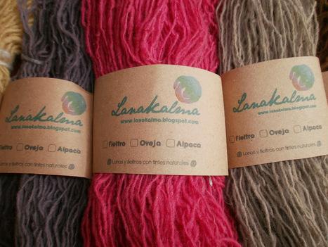lanakalma.. fieltros , lanas y tintes naturales: nuevos hilados ...   Agricultura ecológica y tintes naturales   Scoop.it