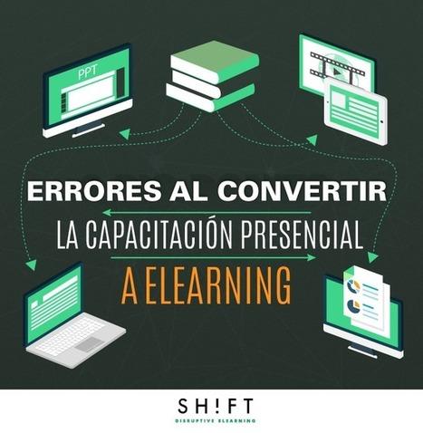 Errores comúnes al convertir la capacitación presencial a eLearning | Pasion por el Conocimiento | Scoop.it