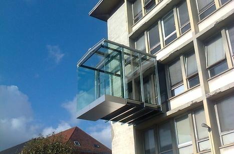 De nouveaux prototypes de balcons à l'INSA de Strasbourg -   On en parle...   Bibliothèque de l'INSA de Strasbourg   Scoop.it