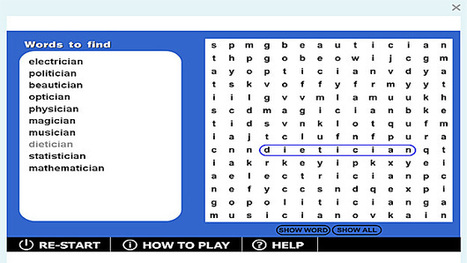 Wordsearch '-cian' game | Sites that help our spelling | Scoop.it