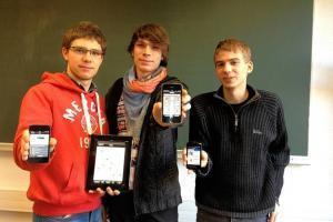 La Meuse ⎥Trois étudiants de l'ULg lancent une application pour smartphones | L'actualité de l'Université de Liège (ULg) | Scoop.it