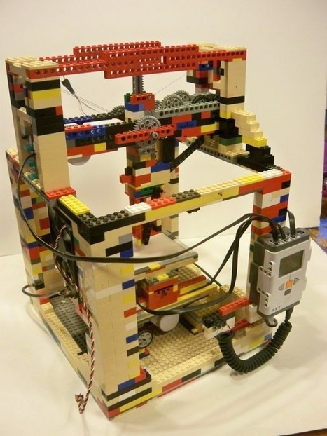SolidSmack.com – LEGObot: The Badass 3D Printer Made Out of Legos | 3D and 4D PRINTING | Scoop.it