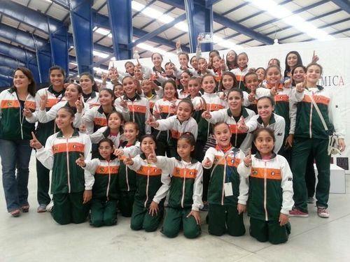 Tamaulipas es Campeón de Gimnasia Rítmica