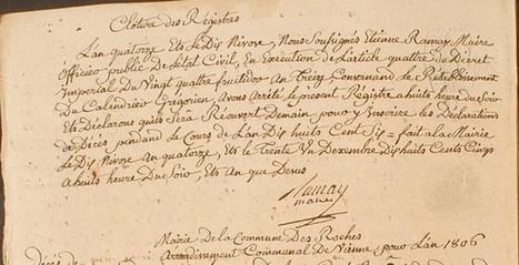 Au soir du dix nivôse... Une histoire de calendrier ! - www.histoire-genealogie.com | GenealoNet | Scoop.it