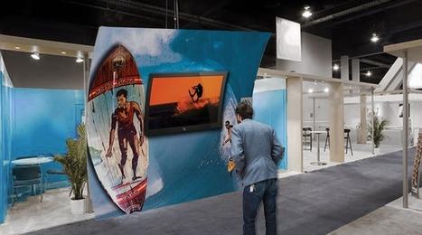 Should I arrange TVs in my trade show booth? | Sponsorship, CSR & Events | Scoop.it