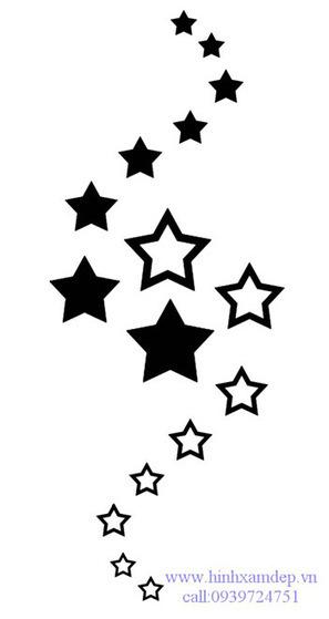 ý nghĩa hình xăm ngôi sao năm cánh và sáu cánh | Xăm Hình Nghệ Thuật Đẹp Nhất Tại Tattoo PT ART ở HCM | Scoop.it