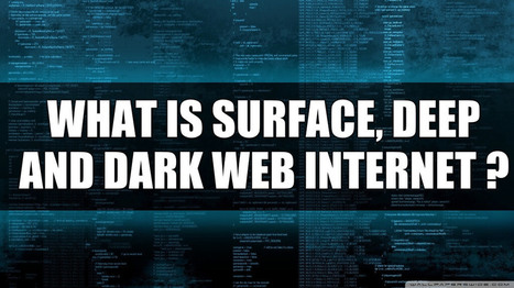 What is Surface, Deep, and Dark Web Internet? | Android Hacking | Scoop.it