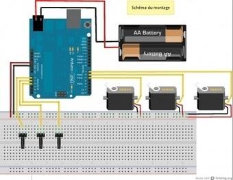 [[ WikiDébrouillards ]] Bras robotisé à base d'Arduino | Ressources pour la Technologie au College | Scoop.it