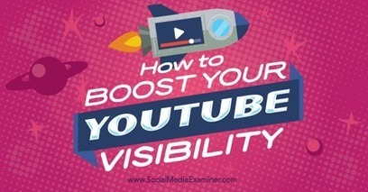 How to Boost Your YouTube Visibility | Webdesign, Graphics, Images, Audio-Video, | Scoop.it