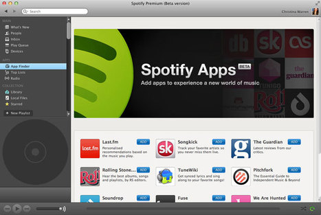 Hands On With Spotify's New App Platform | Music business | Scoop.it